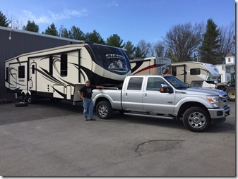 May - Forest River RV Sierra Fifth Wheel